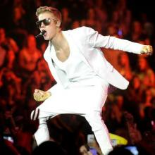الفنان Justin Bieber