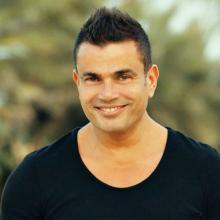 الفنان عمرو دياب